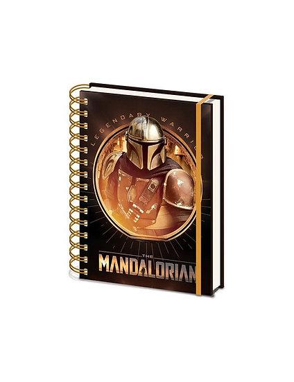Star Wars The Mandalorian Bounty Hunter A5 Wiro Notebook