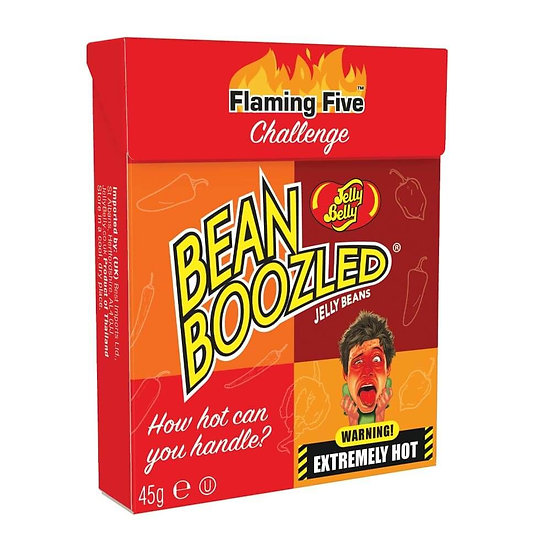 Jelly Belly Bean Boozled Flaming Five Box 45g