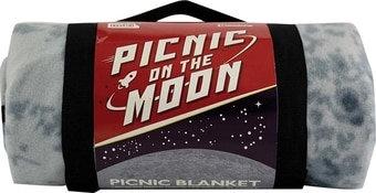 Picnic on the Moon - Fleece Blanket