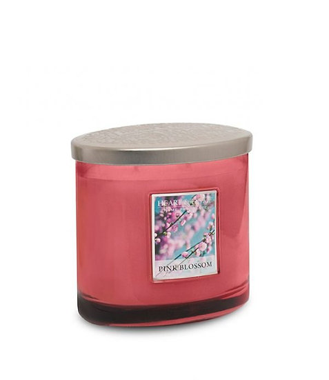 Heart & Home Pink Blossom - 2 Wick Ellipse Candle
