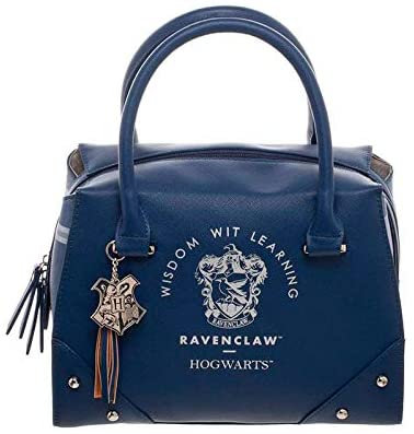 Harry Potter Ravenclaw Luxury Plaid Top Handbag