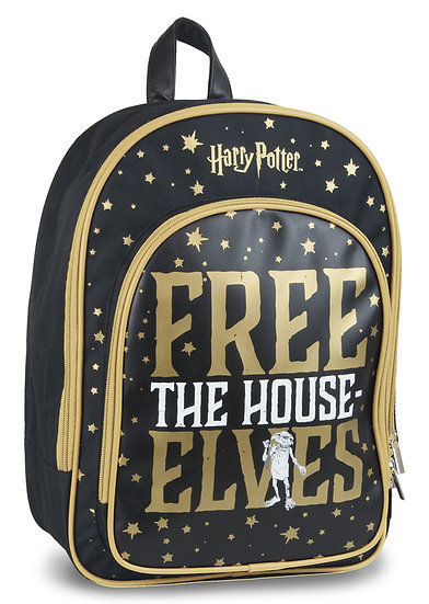 Harry Potter Dobby Backpack - Free The House Elves