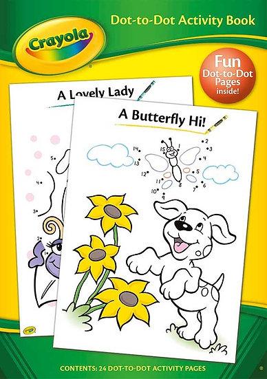 Crayola Dot-to-Dot Activity Book