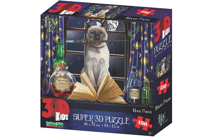 Lisa Parker Hocus Pocus - 3D Jigsaw Puzzle (150 Pieces)
