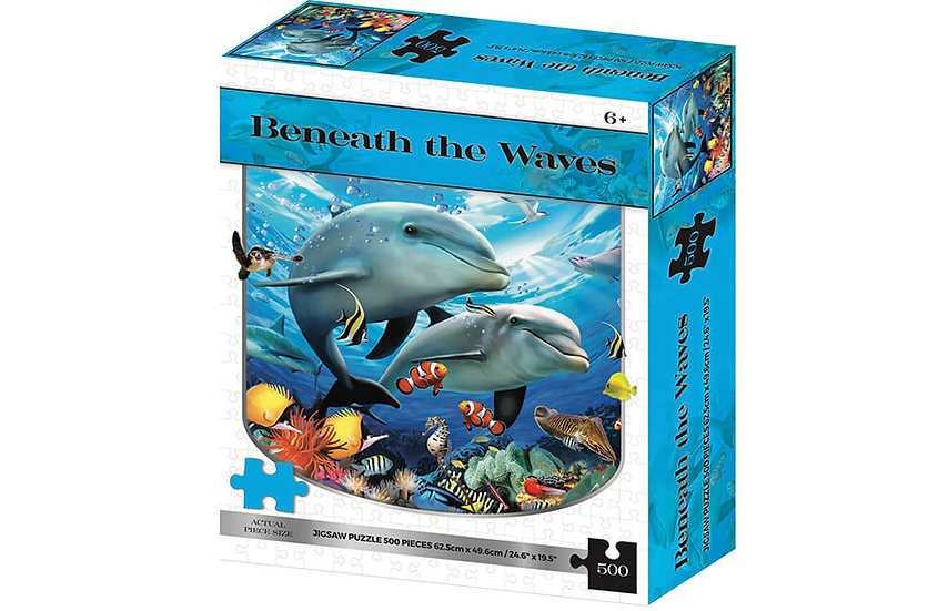 Beneath The Waves 2D Jigsaw Puzzle (500 Piece)