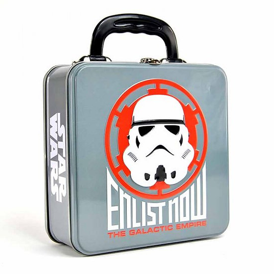 Star Wars Stormtrooper Icon Embossed Tin Tote
