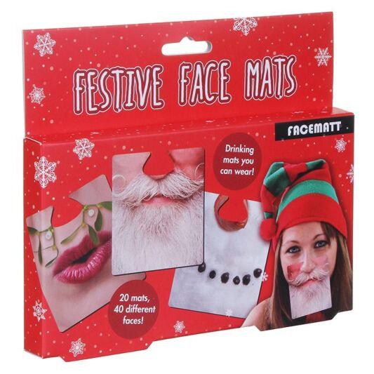 Festive Face Mats
