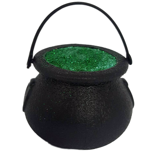 Witches Ghastly Green Cauldron Bath Bomb 150g