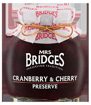 Mrs Bridges Cranberry & Cherry Preserve 340g