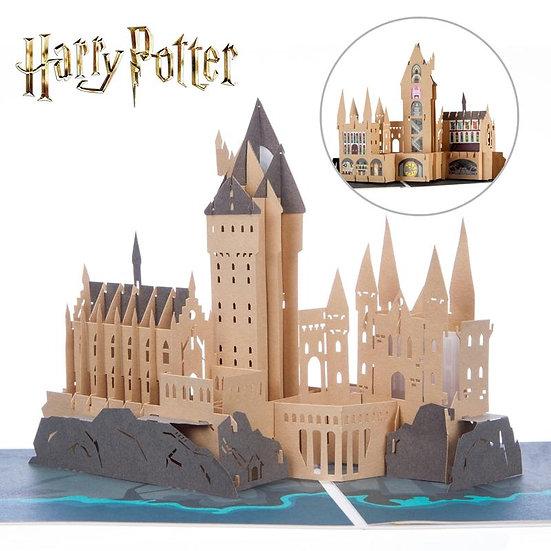 Harry Potter Hogwarts Castle Pop Up Card