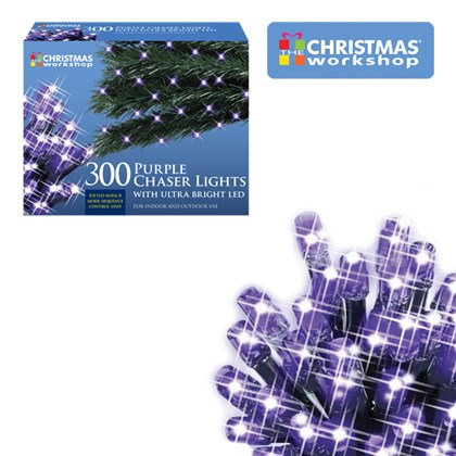 Purple LED Chaser Lights