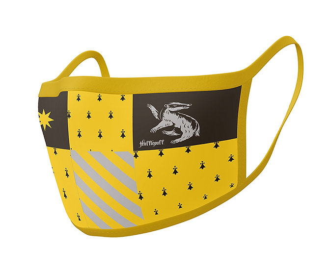 Harry Potter Hufflepuff Face Cover 2 Pack