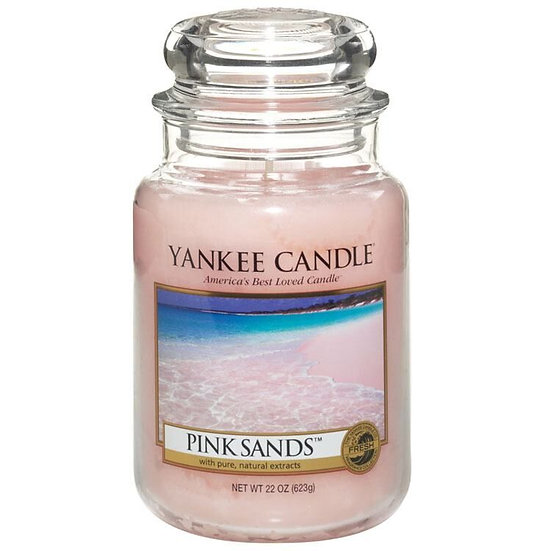 Yankee Candle Pink Sands - Large Candle Jar 623g
