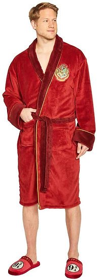 Harry Potter Hogwarts Express 9 3/4 Men's Bathrobe