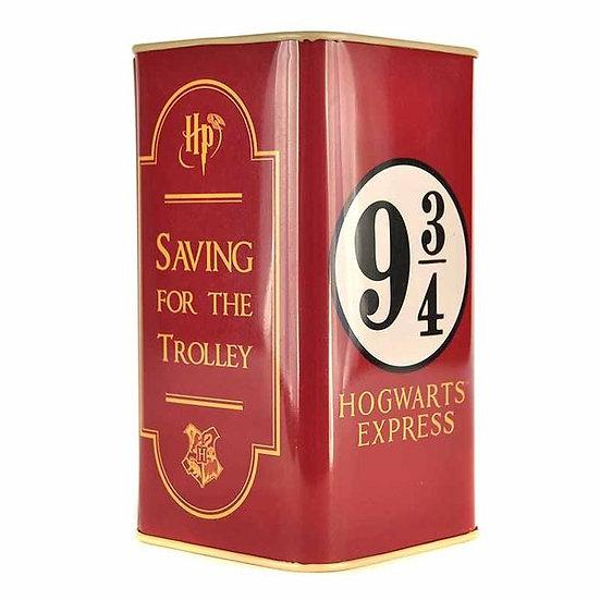 Harry Potter Money Box Tall -Platform 9 3/4