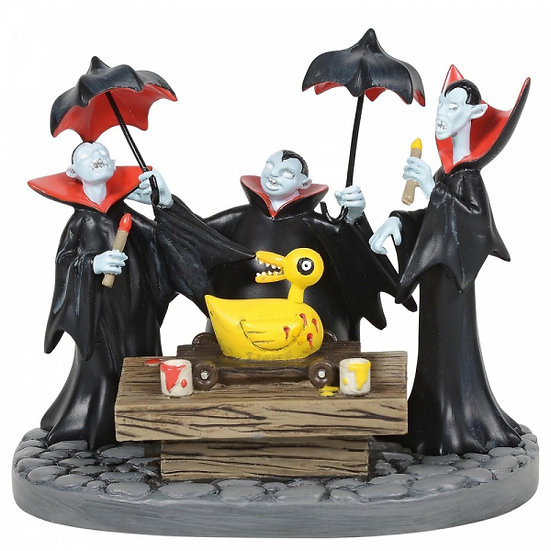 Nightmare Before Christmas - Vampire Brothers Prepare the Duck Figurine
