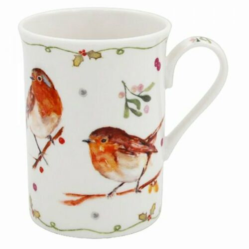 Winter Robins Mug