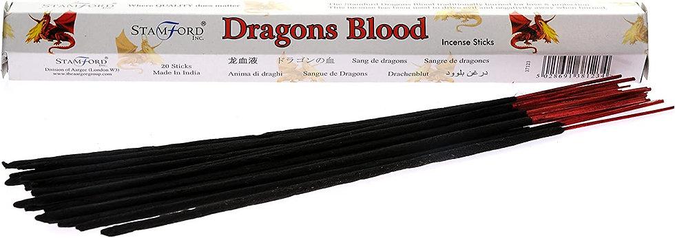 Stamford Dragons Blood Incense Sticks 20pk