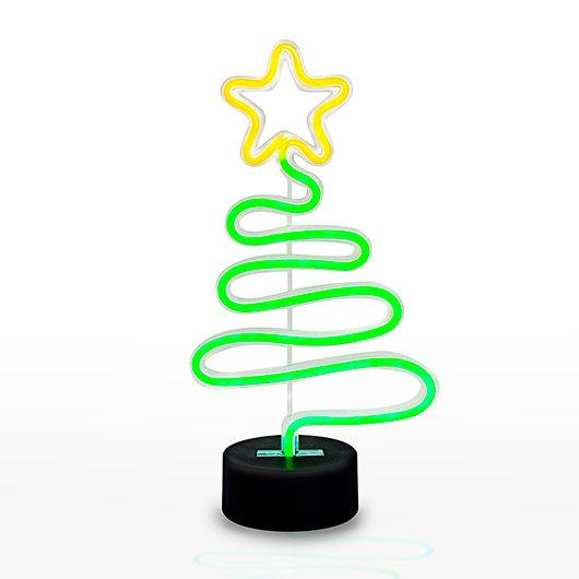 Festive Christmas Tree Neon Light
