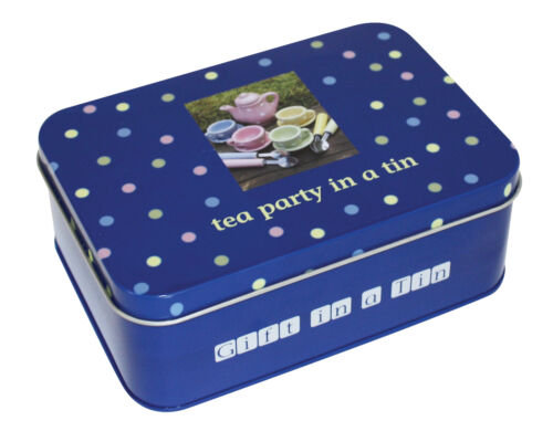 Tea Party In A Tin - Gift In A Tin