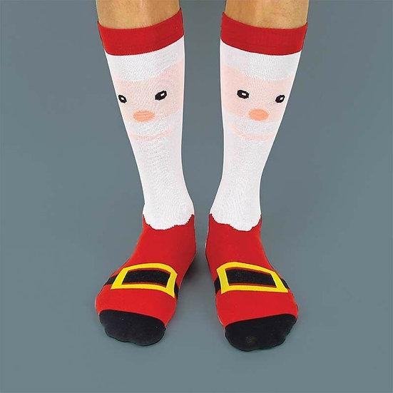 Santa Festive Socks - size 3-7