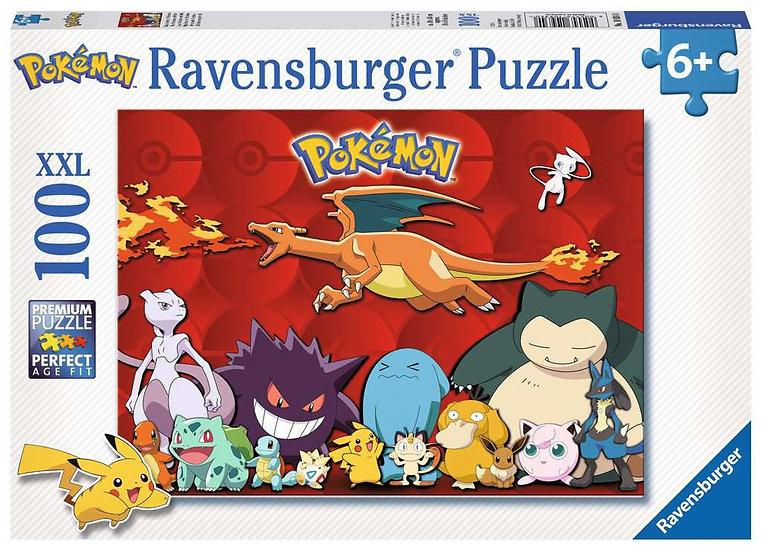 Pokemon XXL Jigsaw Puzzle (100 pieces)