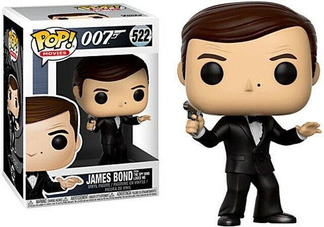 Funko Pop! James Bond - Roger Moore No. 522