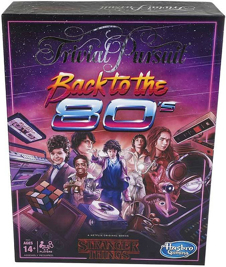 Stranger Things Back to the 80's Trivial Pursuits