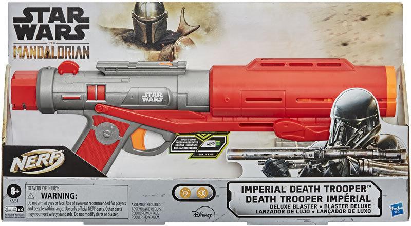 Star Wars Nerf The Mandalorian Imperial Death Trooper Deluxe Blaster