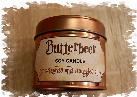 Harry Potter Butterbeer Soy Candle 9oz