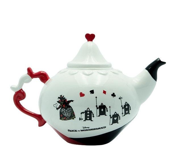 Disney Alice Queen Of Hearts Teapot