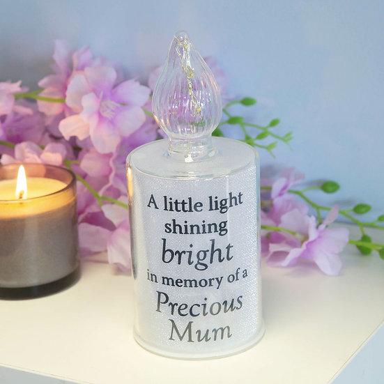 Thoughts Of You Memorial Candle LED Light - Mum