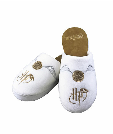 Harry Potter Golden Snitch Slippers UK Size 5-7