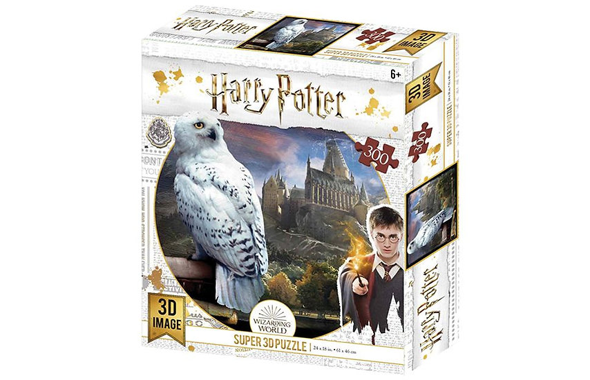 Harry Potter 3D Jigsaw Puzzle (300 Pieces) - Hedwig