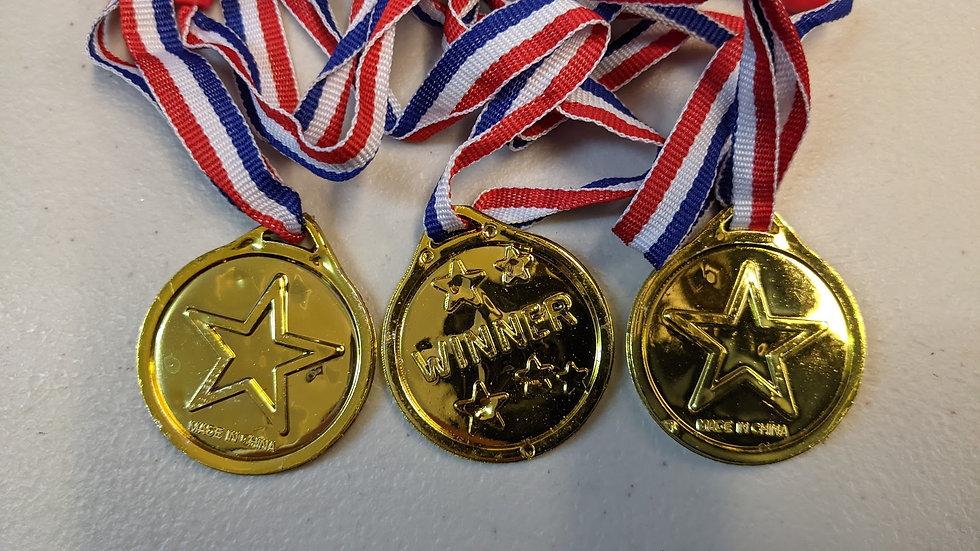 Winner Gold Medals x 3