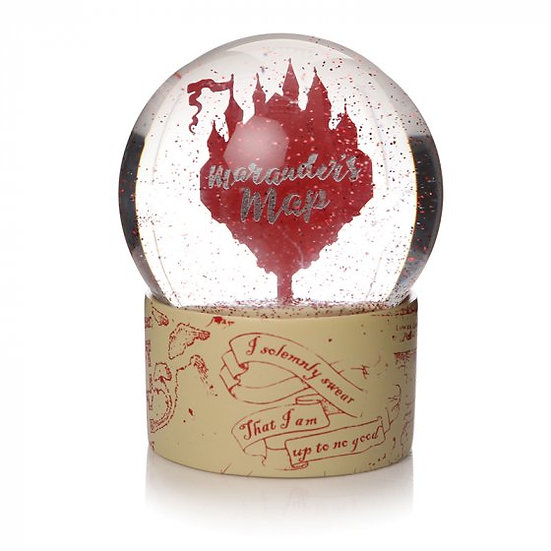 Harry Potter Marauders Map Snow Globe