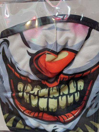 Clown Novelty Face Mask