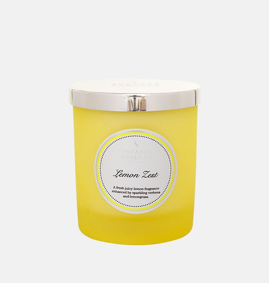 Shearer Candle Lemon Zest Jar Candle - Couture Collection