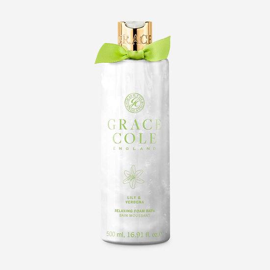 Grace Cole Lily & Verbena Bath Foam 500ml