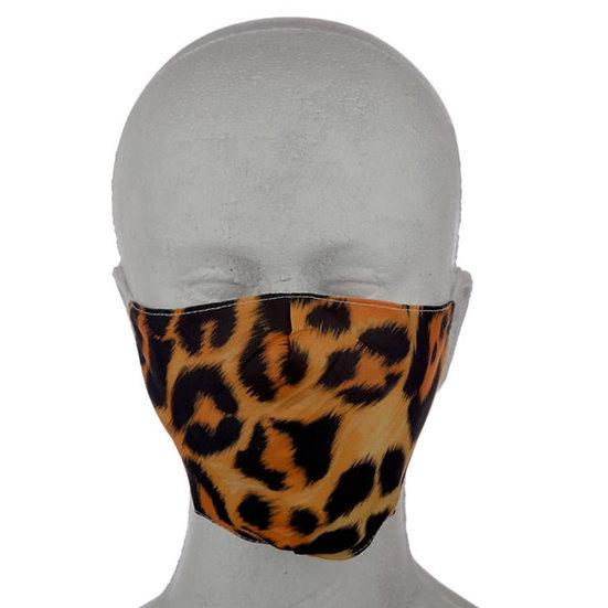Leopard Animal Print Reusable Face Mask