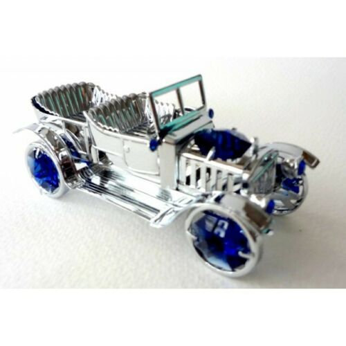 Vintage Car Crystocraft Ornament