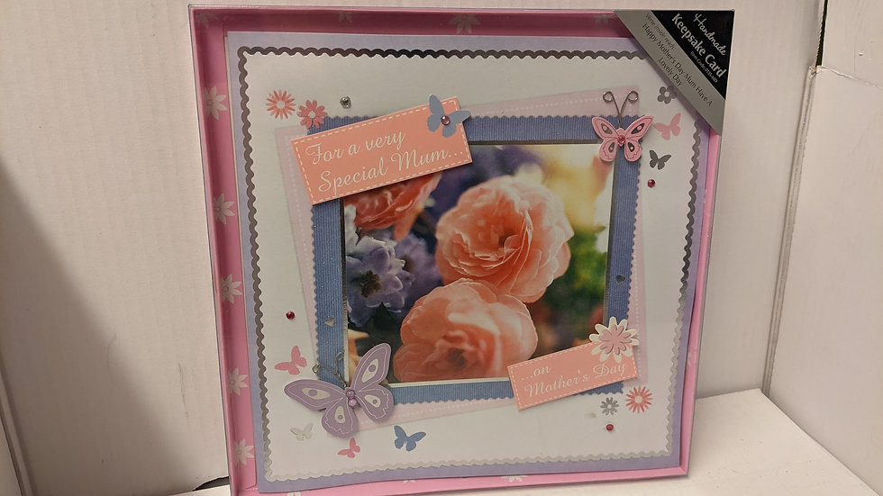 Special Mum - Mother's Day Card Boxed