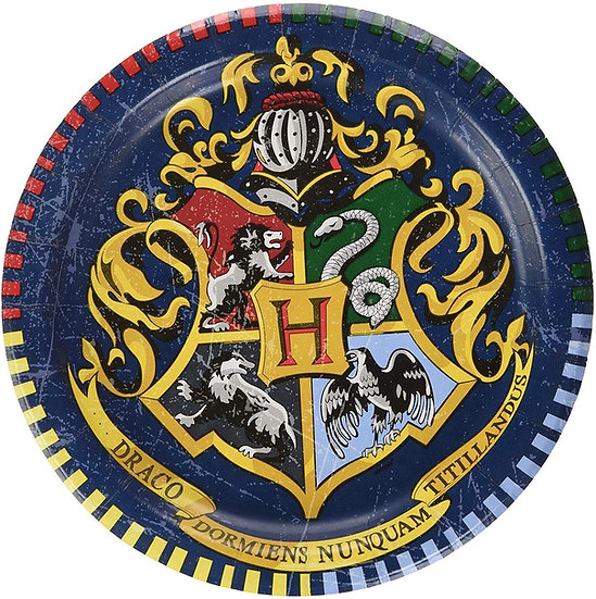 Harry Potter 17cm Party Plates 8pk