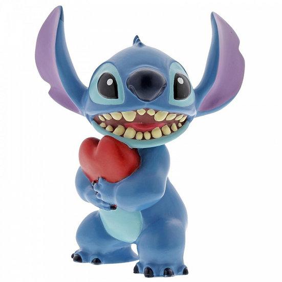 Disney Stitch Heart Figurine