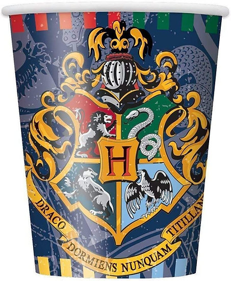 Harry Potter 270ml Paper Party Cups 8pk