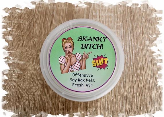 Offensive Soy Wax Melts - Skanky Bitch 50g
