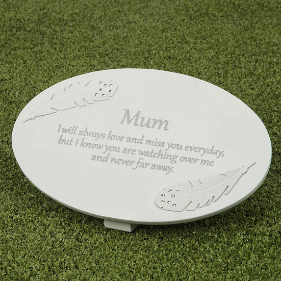 Thoughts Of You Mum - Memorial Plaque