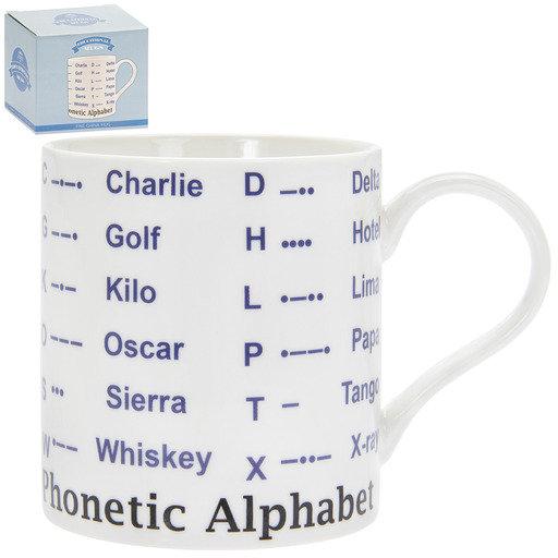 Phonetic Alphabet Mug