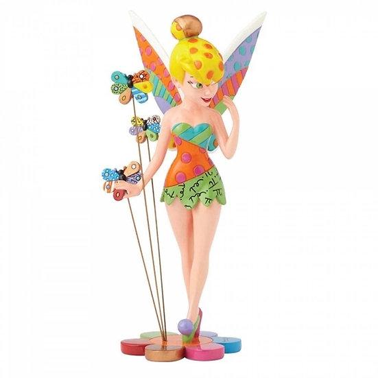 Disney Britto Tinker Bell on Flower Figurine