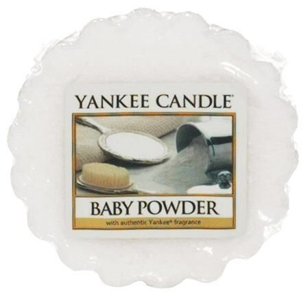 Yankee Candle Baby Powder Wax Melt Tart